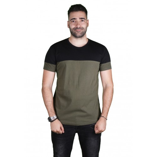 LA57 57520 GREEN/BLACK T-SHIRT