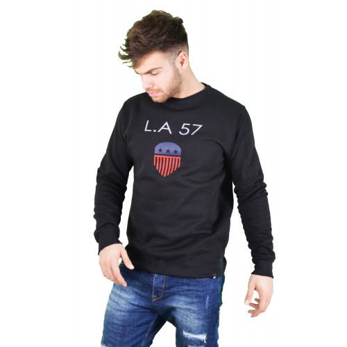 57101-1 LA57 SWEATSHIRT - BLACK