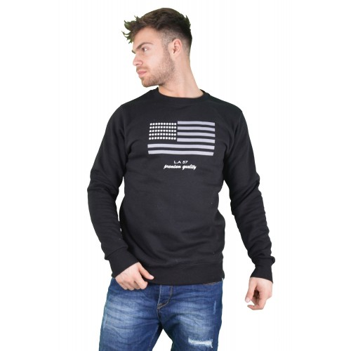 57109-1 LA57 SWEATSHIRT - BLACK
