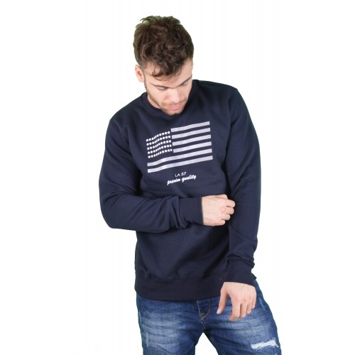 57109-3 LA57 SWEATSHIRT - NAVY