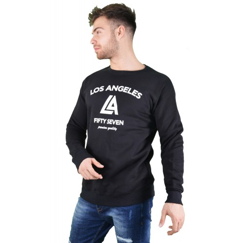 57104-1 LA57 SWEATSHIRT - BLACK