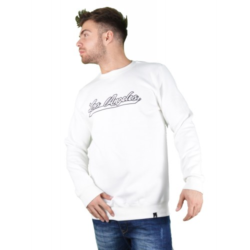 57106-2 LA57 SWEATSHIRT - WHITE