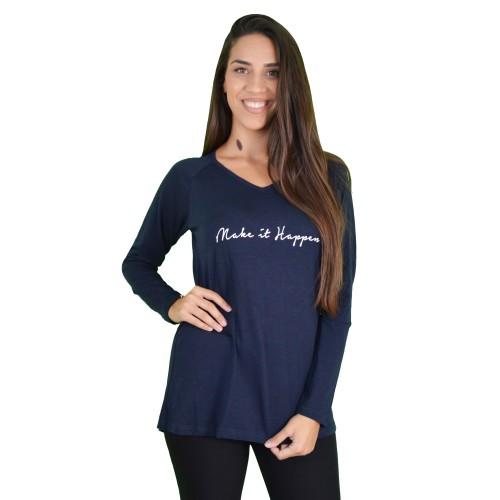 Γυναικεία Μπλούζα Μπλε - Noobass