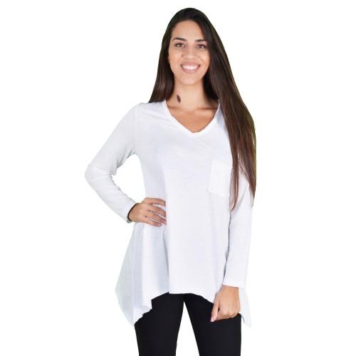 Γυναικεία Μπλούζα Λευκή - Noobass
