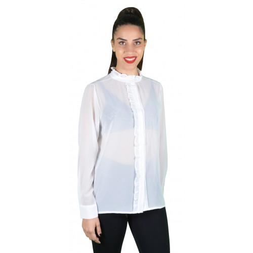 Γυναικείο Πουκάμισο Λευκό - Noobass