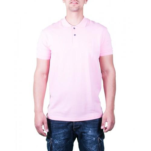 Ανδρικό Μπλουζάκι Πόλο Ροζ - Paco