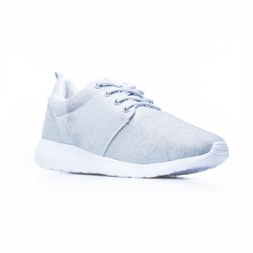 Γυναικείο Sneaker Ασημί