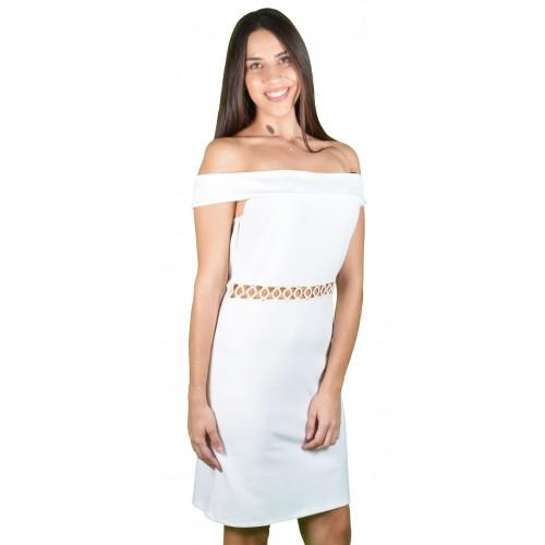 Γυναικείο Φόρεμα Λευκό