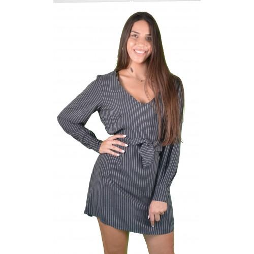 Γυναικείο Φόρεμα Γκρι - L3