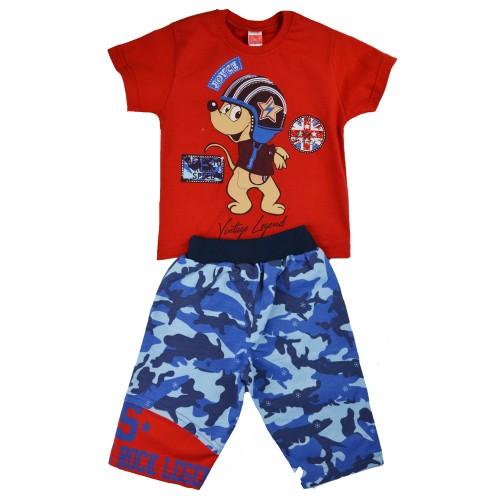 Παιδικό Σετ Κόκκινο/Μπλε - Joyce 7163