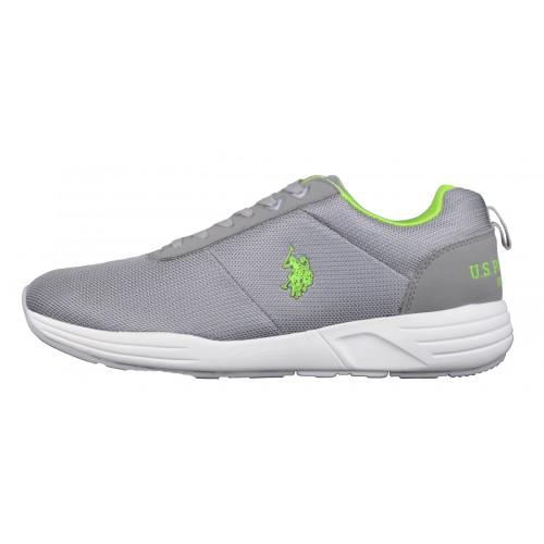 Ανδρικό Sneaker Γκρι - U.S. Polo Assn