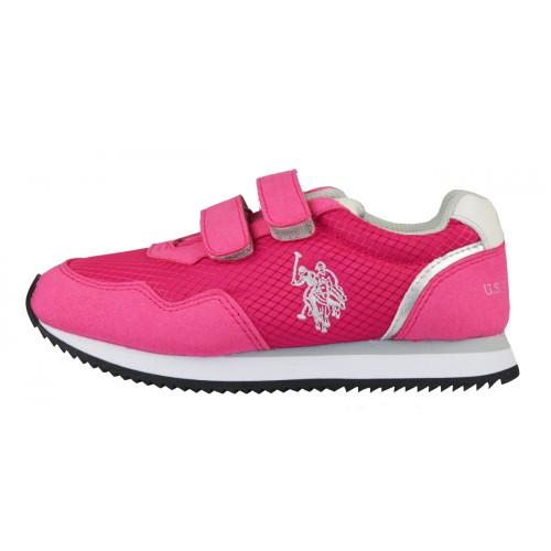 Παιδικό Sneaker Φούξια - U.S. Polo Assn.
