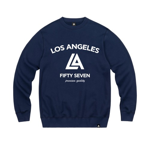 57104-3 LA57 SWEATSHIRT - NAVY