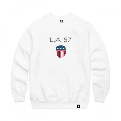 57101-2 LA57 SWEATSHIRT - WHITE