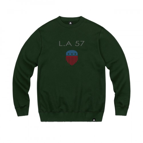 57101-6 LA57 SWEATSHIRT - GREEN