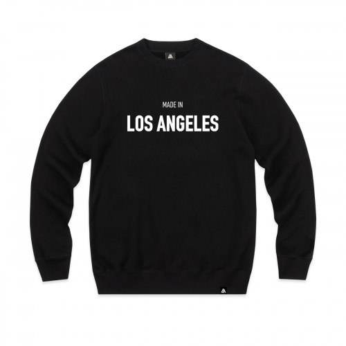 57102-1 LA57 SWEATSHIRT - BLACK