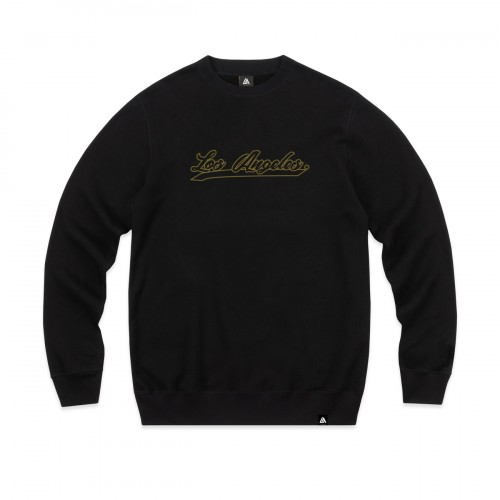 57106-1 LA57 SWEATSHIRT - BLACK