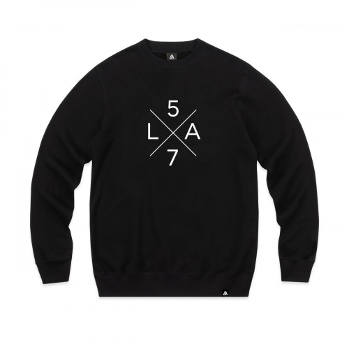 57108-1 LA57 SWEATSHIRT - BLACK