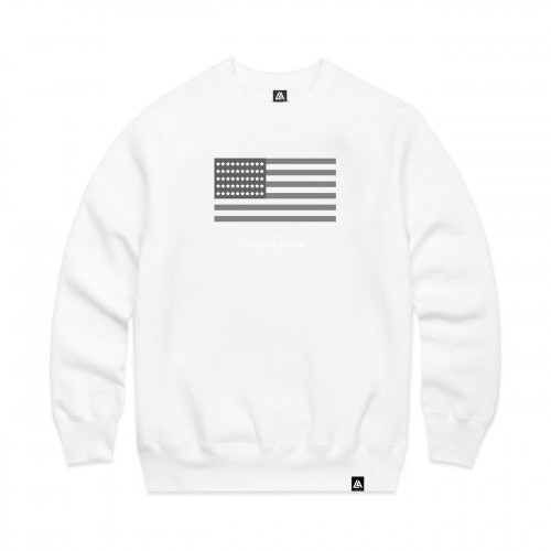 57109-2 LA57 SWEATSHIRT - WHITE