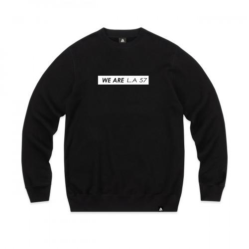 57113-1 LA57 SWEATSHIRT - BLACK