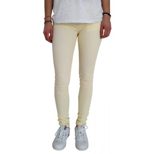Γυναικείο Παντελόνι Κίτρινο