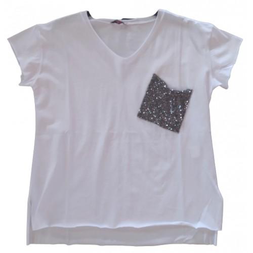 Γυναικείο T-shirt Λευκό 217352