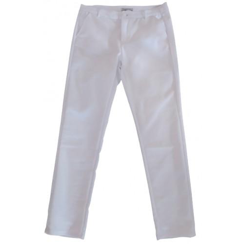 Γυναικείο Παντελόνι Λευκό MG982-2