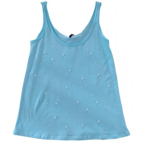 Γυναικείο Μπλουζάκι Αμάνικο Βεραμάν 02-0296A