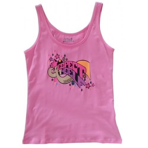 Γυναικείο Μπλουζάκι Αμάνικο Φούξια 0125