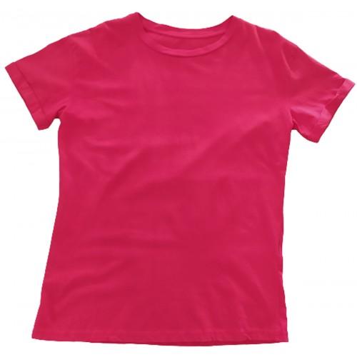 Γυναικείο T-shirt Κόκκινο 01300