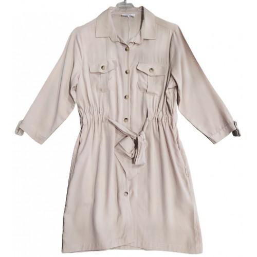 Γυναικειο Φόρεμα Μπέζ Free Style