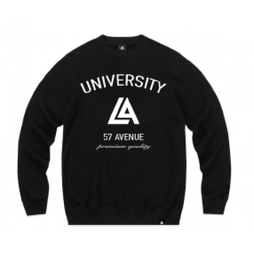57123-1 LA57 SWEATSHIRT - BLACK