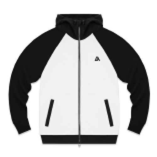 57409-2 LA57 JACKET - WHITE/BLACK