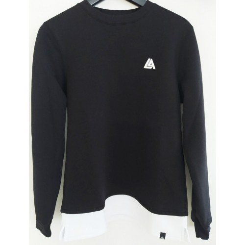 57010-1 LA57 SWEATSHIRT - BLACK