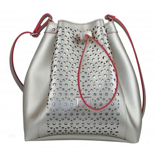 Pierro - Δερμάτινη Τσάντα Χρυσό - 00190LS24