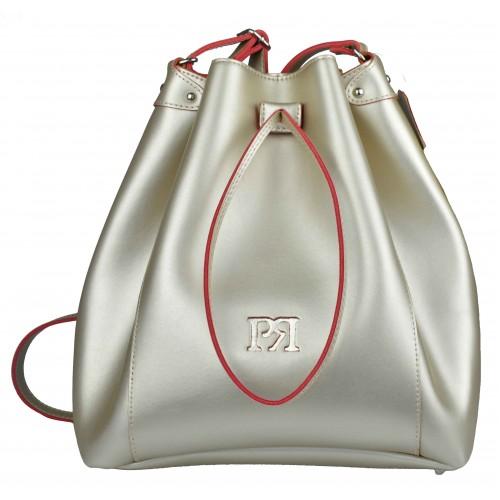 Pierro - Δερμάτινη Τσάντα Χρυσή - 00190EC24