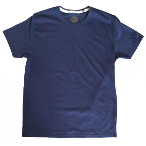 Ανδρικό T-Shirt Μπλε με σταμπα FRNK