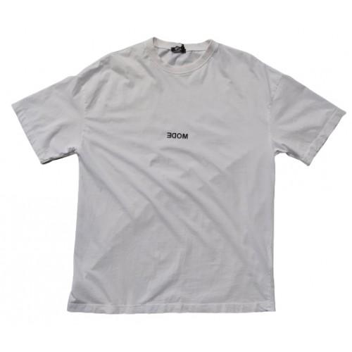 Ανδρικό T-Shirt Λευκό με σταμπα Mode