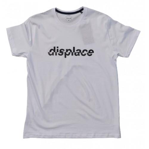 Ανδρικό T-Shirt Λευκό με σταμπα Displace