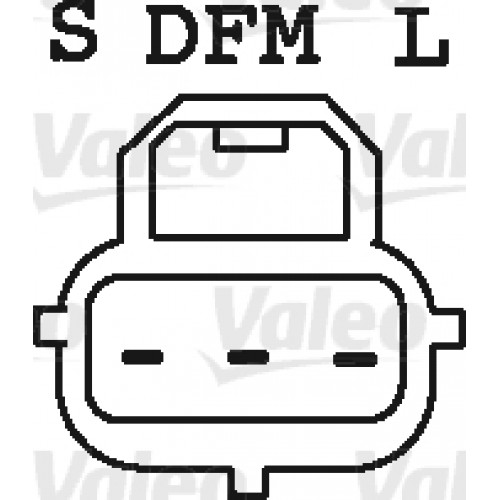 ALTERNATOR MONDEO II REMAN (TECDOC 437525) - VALEO VL437525