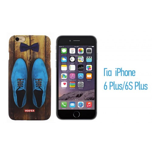 Backcase ανάγλυφη θήκη VodEx για iPhone 6 Plus/6S Plus - Gentleman