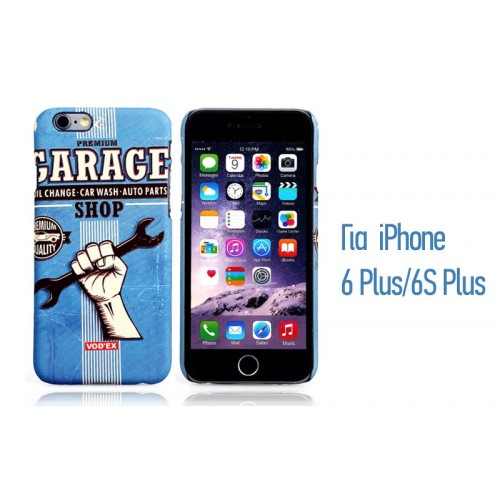 Backcase ανάγλυφη θήκη VodEx για iPhone 6 Plus/6S Plus - Garage Shop