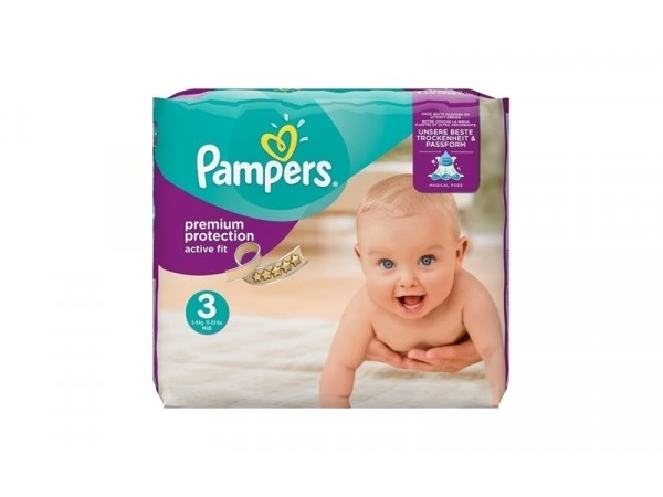 Pampers Active Fit Νο 3 (5-9kg) - 28τμχ