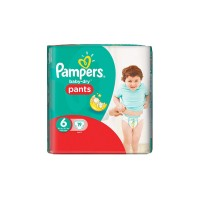 Pampers Baby Dry Pants No 6 (16+ kg) - 19τμχ