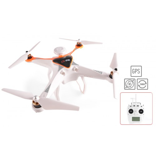 FPV Quadcopter Cheerson CX-22 Follow me, Dual GPS / 2.4GHz - Πορτοκαλί