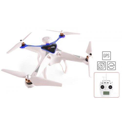 FPV Quadcopter Cheerson CX-22 Follow me, Dual GPS / 2.4GHz - Μπλε