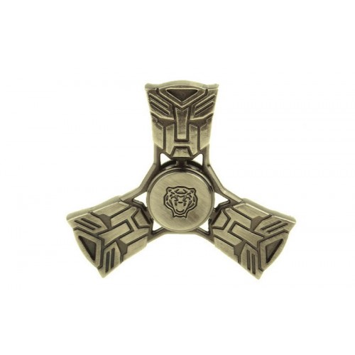 Fidget Spinner Transformers Anti Stress 4 minutes - Gold - OEM 50669