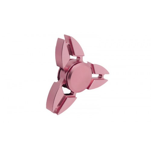 Fidget Spinner Copper Crabs Three Leaves 3 minutes - Pink - OEM 50691