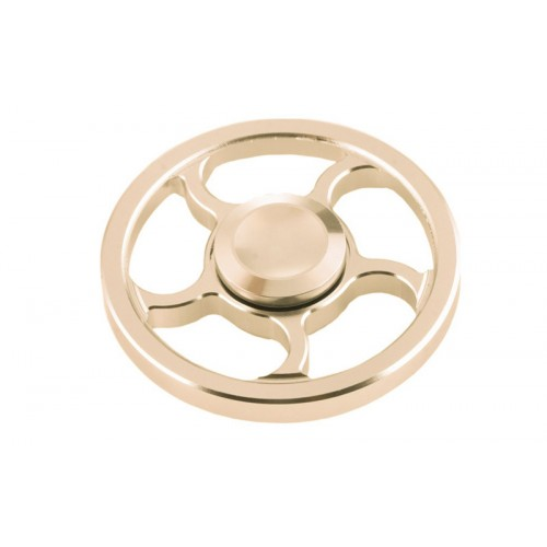 Fidget Spinner Wind Wheel Aluminium Alloy 3 minutes - Golden - OEM 50946