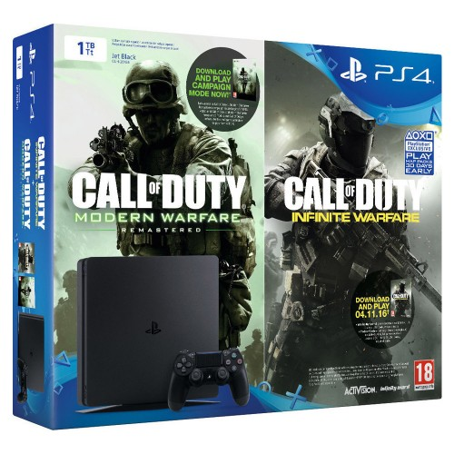 Sony PlayStation 4 (PS4) Slim 1TB & Call of Duty Infinite Warfare Early Access Bundle